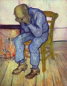Bildhafte Darstellung einer Depression
