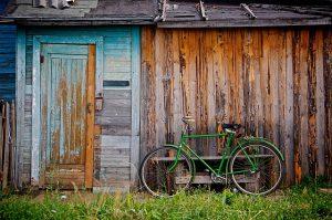 Der Schuppen ohne Schuppen mit Rad